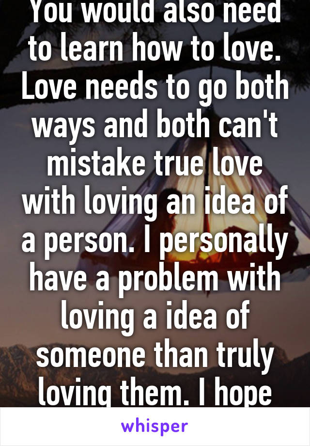 Need to find love