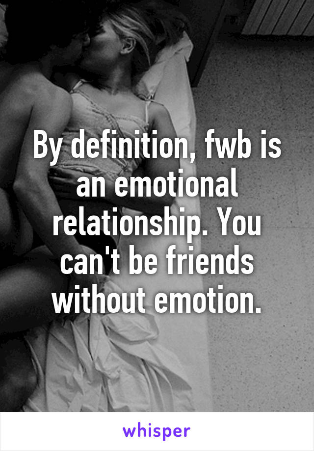 What means fwb relationship