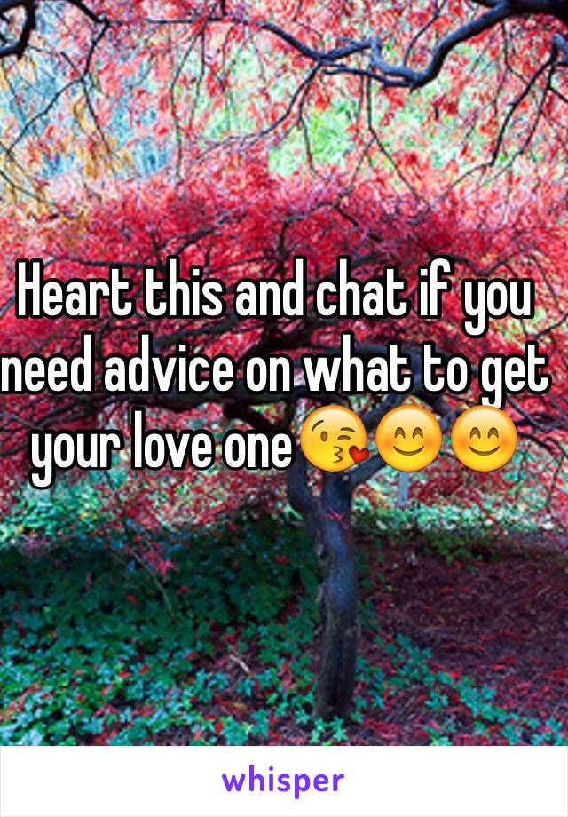 Heart this and chat if you need advice on what to get your love one😘😊😊