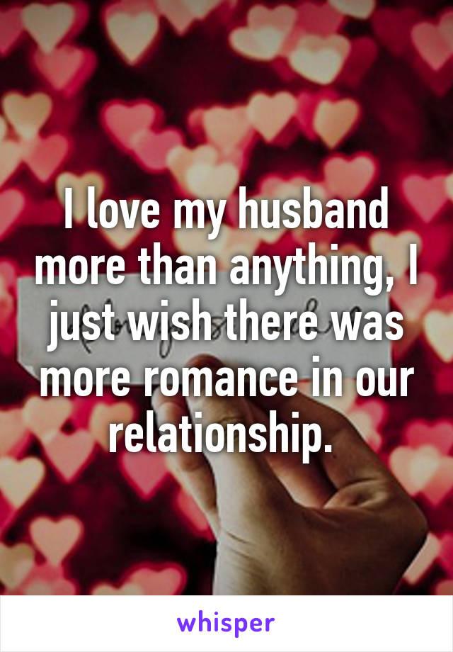 I love my phone more my husband