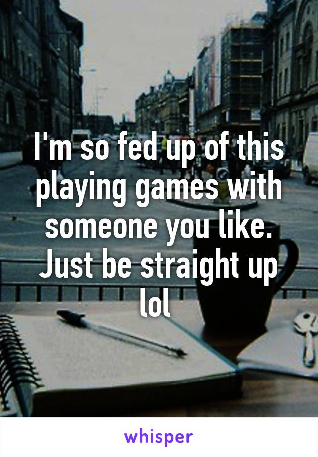 playing games with someone