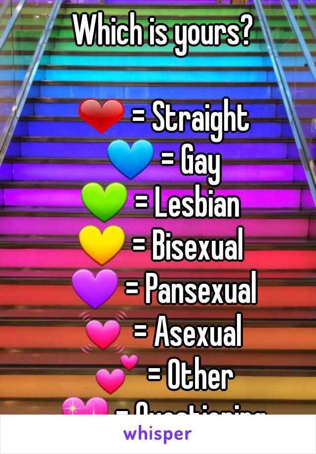 Gay bisexual straight
