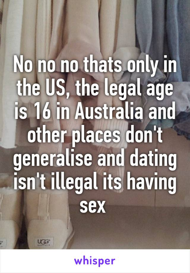 dating age in us