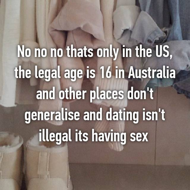 legal age dating australia