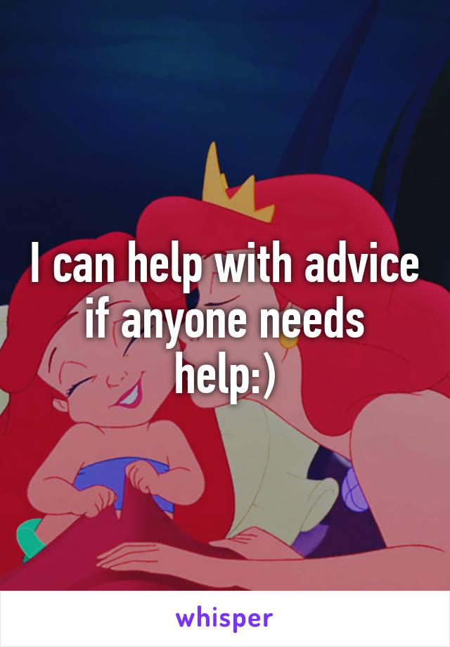 I can help with advice if anyone needs help:)