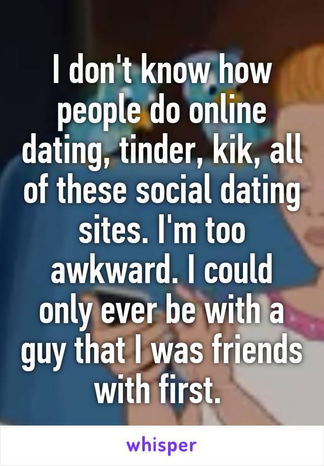 Kik online dating