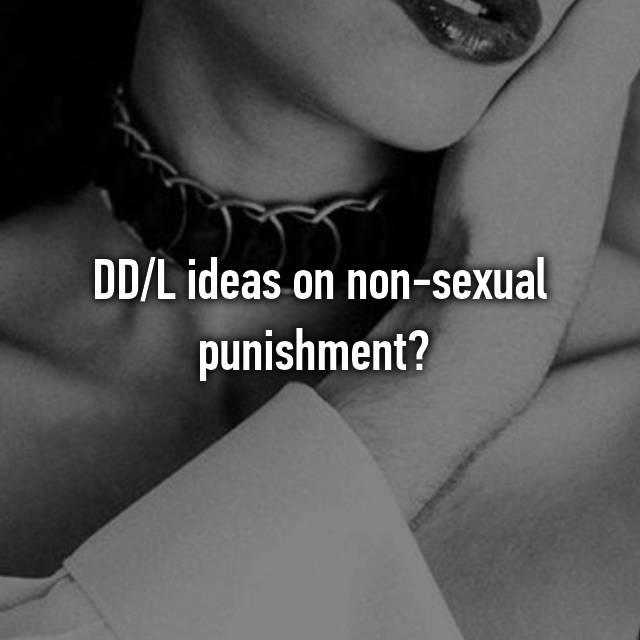 Punishment ideas dd Domestic Discipline