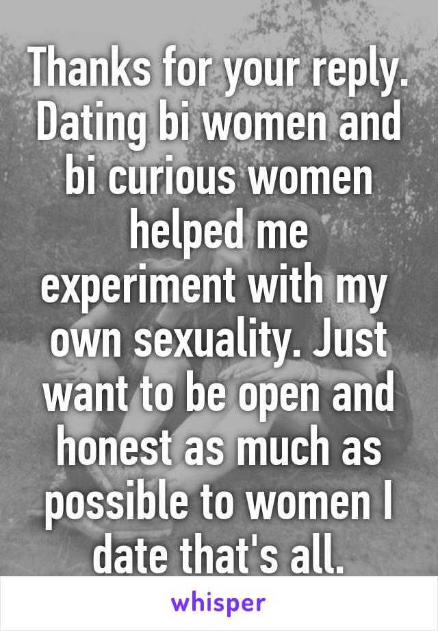 bi curious dating