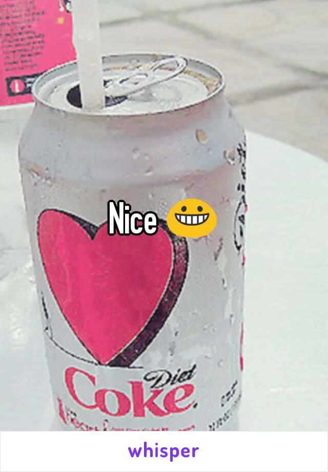 Nice 😀