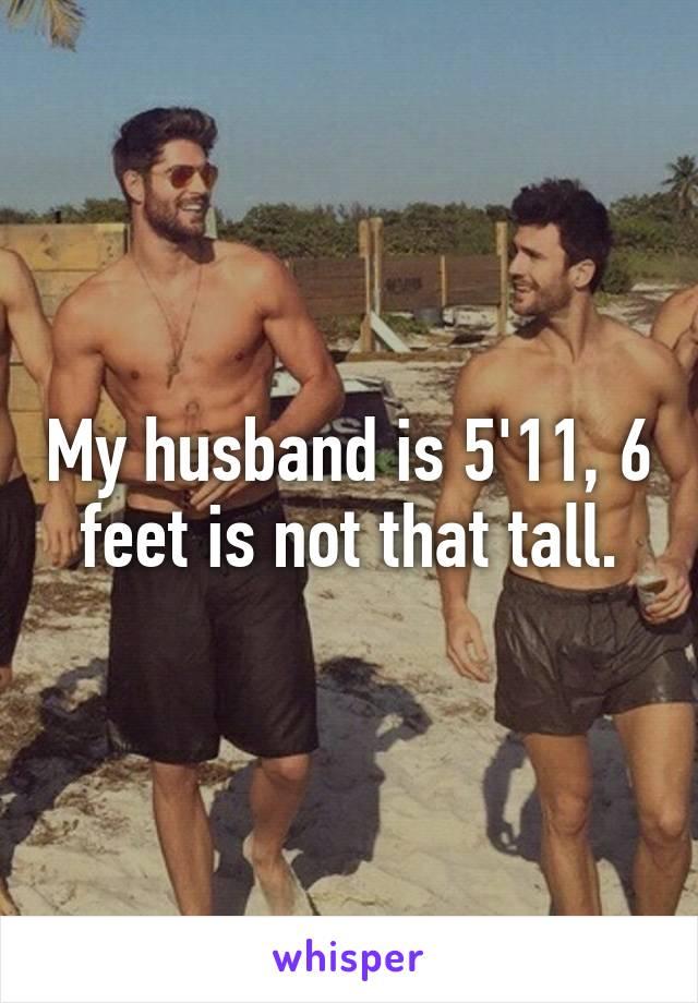 5 foot 11