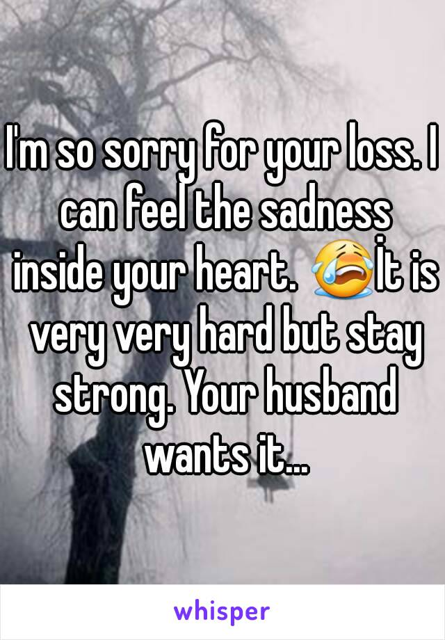Sorry For Your Loss Quotes 42178 | ECHIP