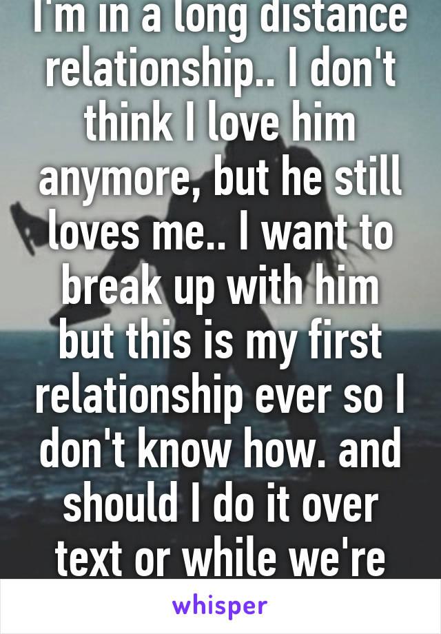Does He Like Me Long Distance