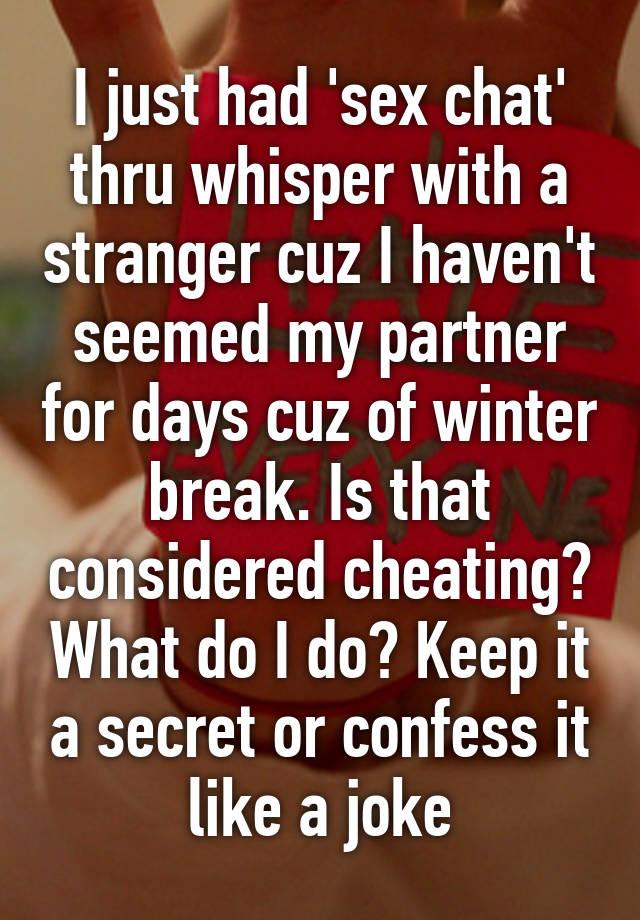 secret sex chat