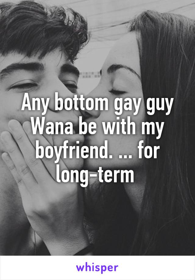 bottom gay term