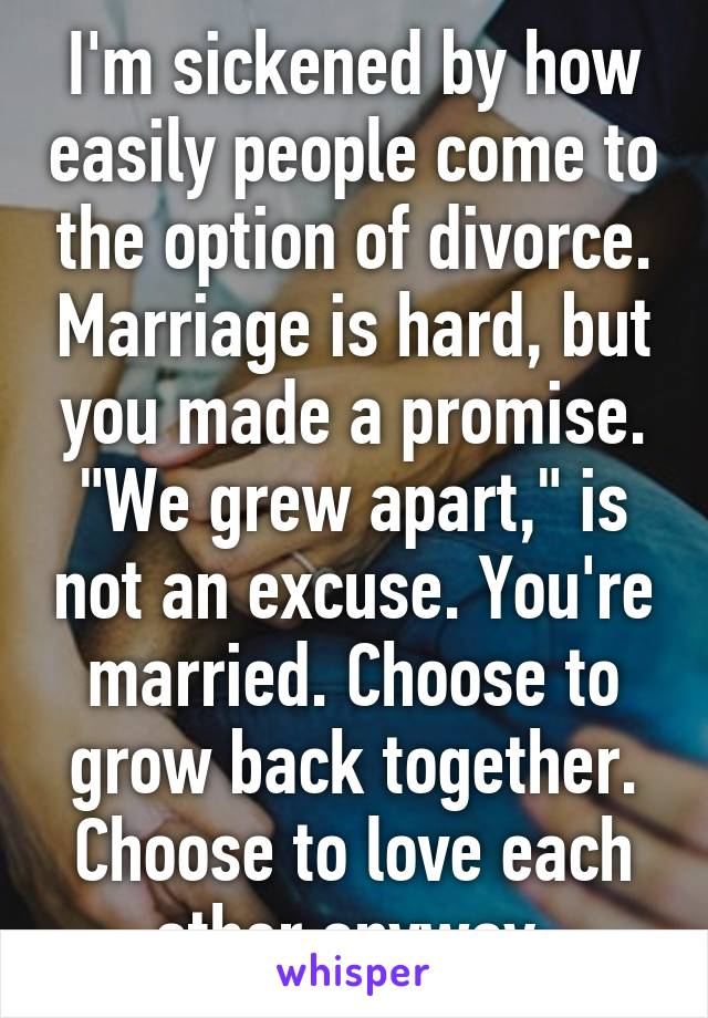 Divorce when you still love each other
