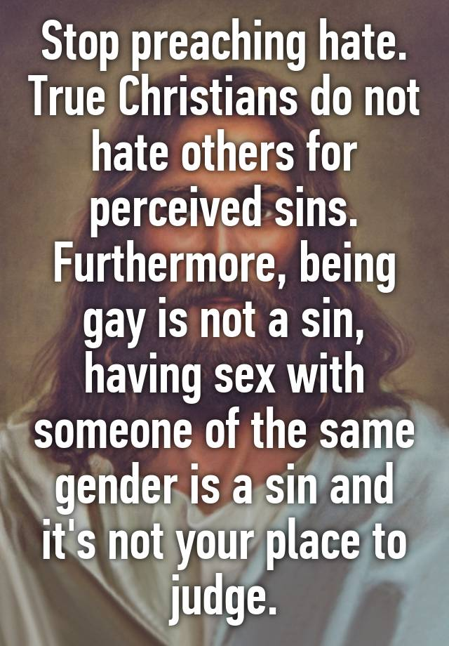 Why christians hate sex