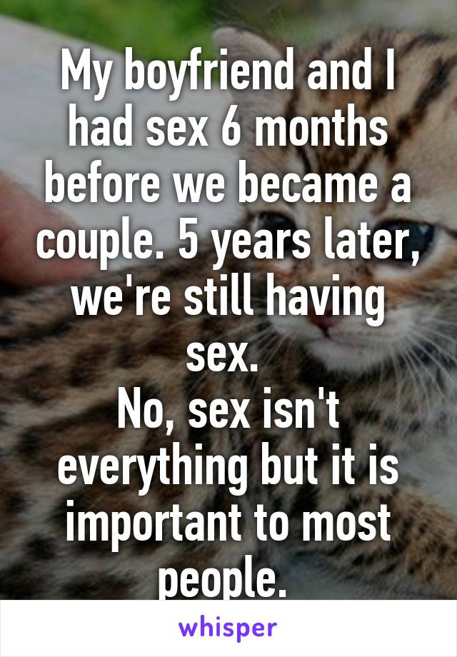 5 months no sex with wife