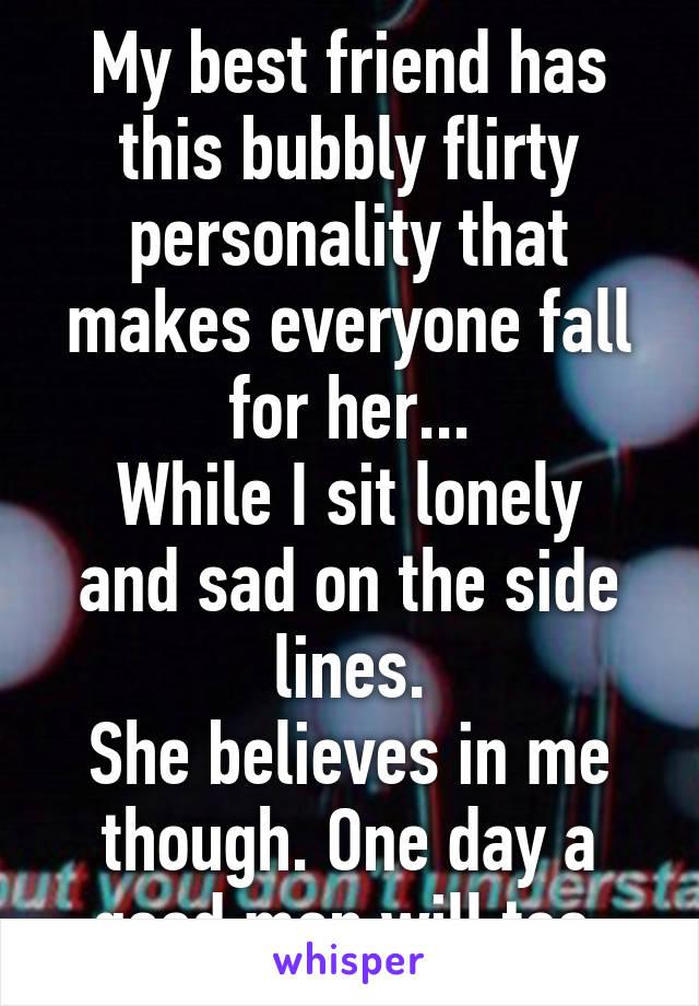 flirty personality