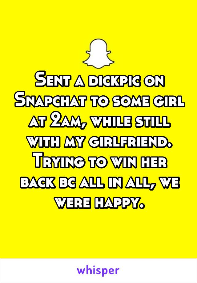 how to win a girl over snapchat