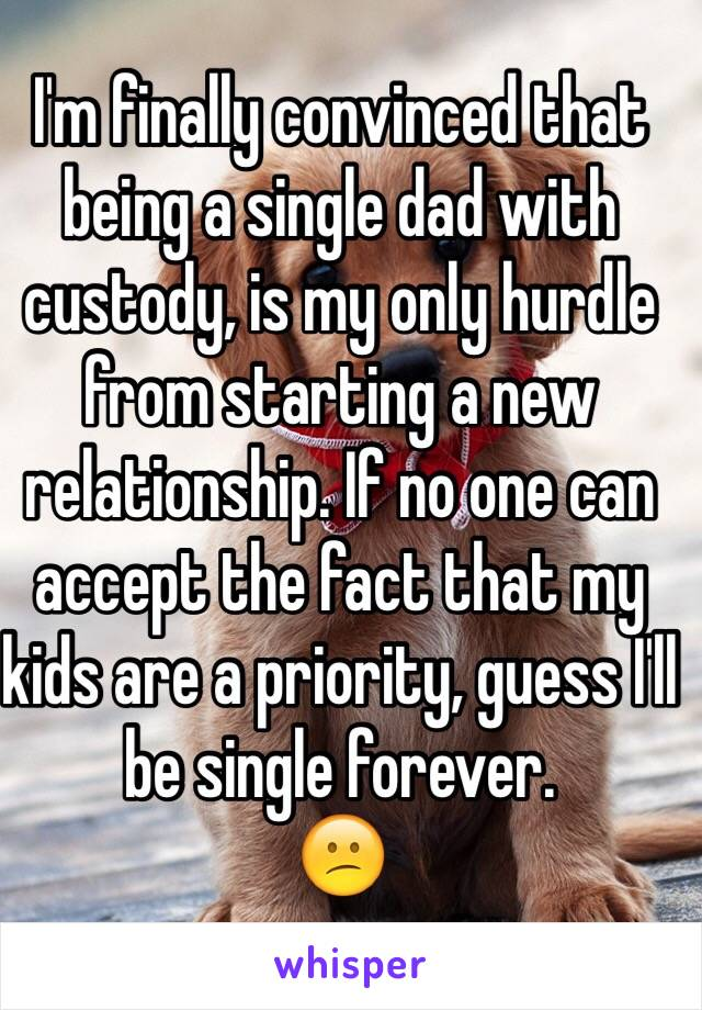 relationship with single dad