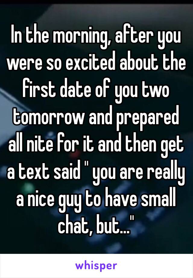 first date chat