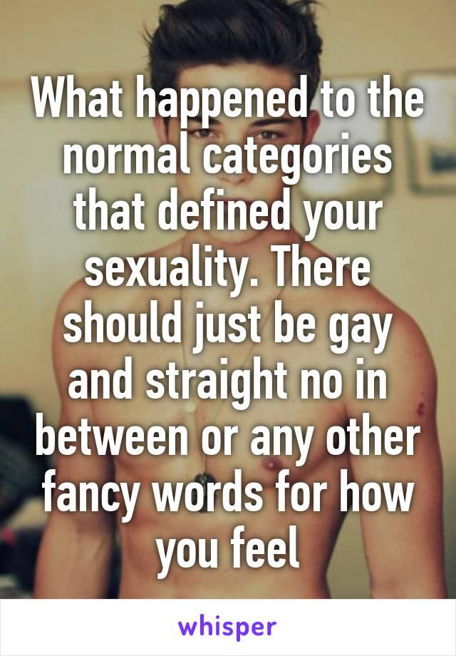 gay categories
