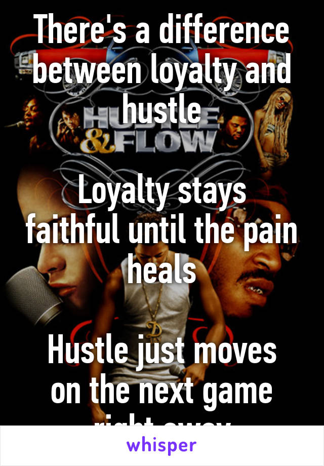 difference between loyal and faithful