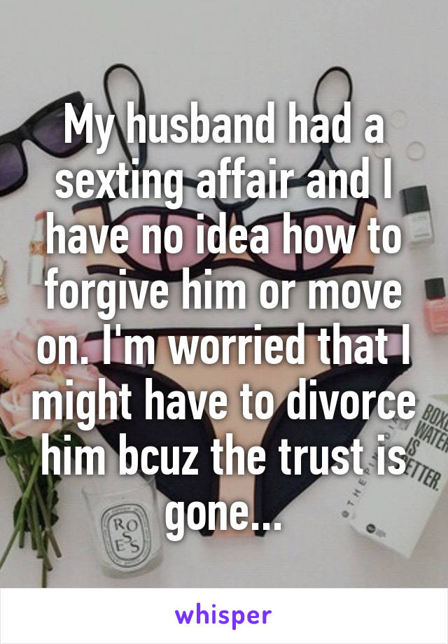 husband sexting affair