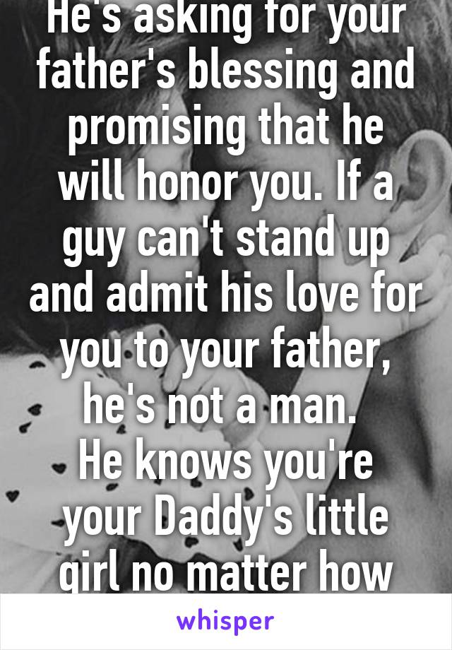 Dating a man like your father