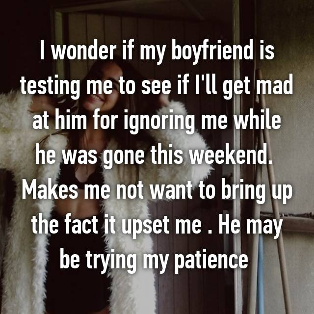 Is He Corroborating Me By Ignoring Me