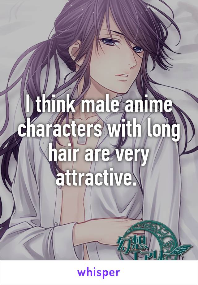 25+ Anime Male With Long Hair  Wallpapers