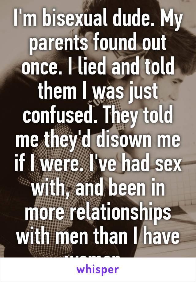Should i tell my parents ive had sex