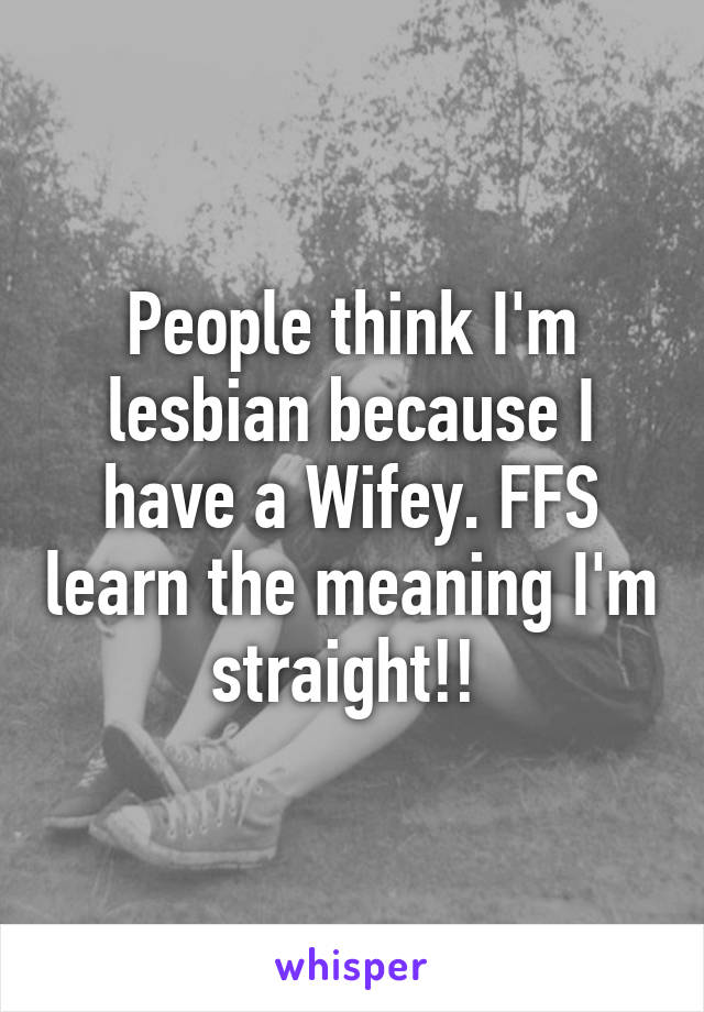 Wifey meaning