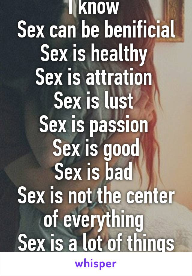 Is a lot of sex healthy