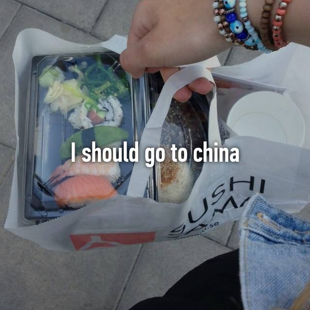 I should go to china