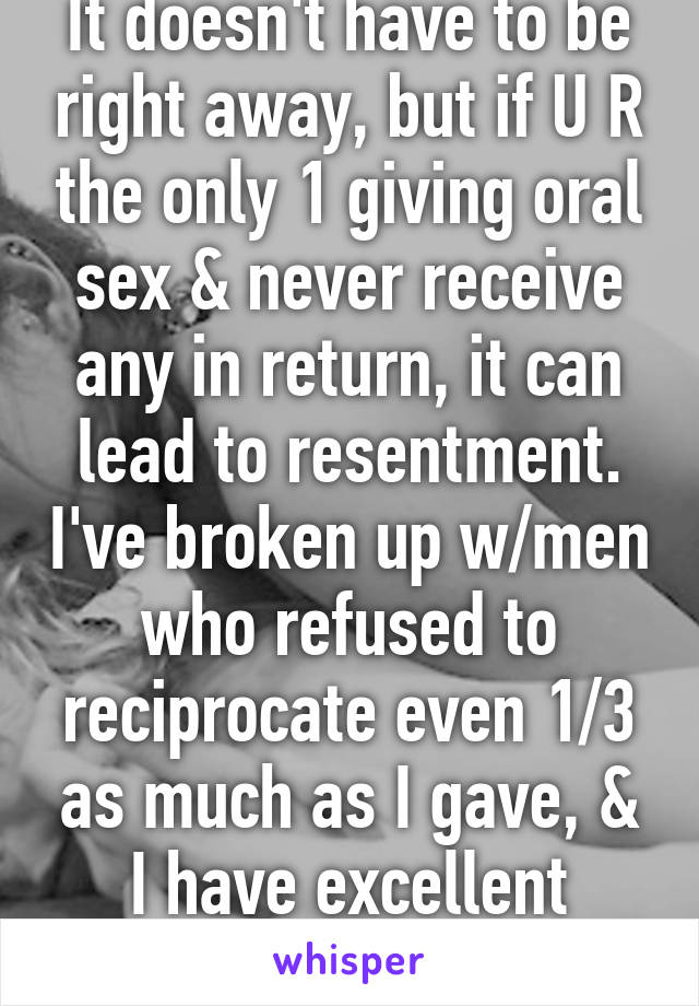 I gave my dad oral sex