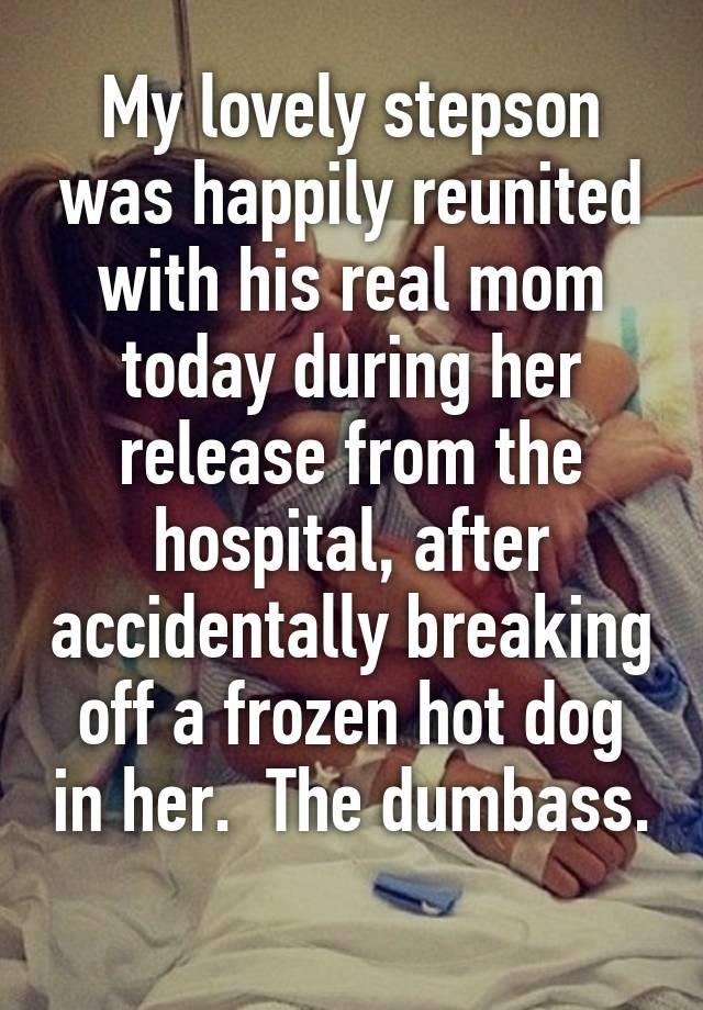 Hot mom step son