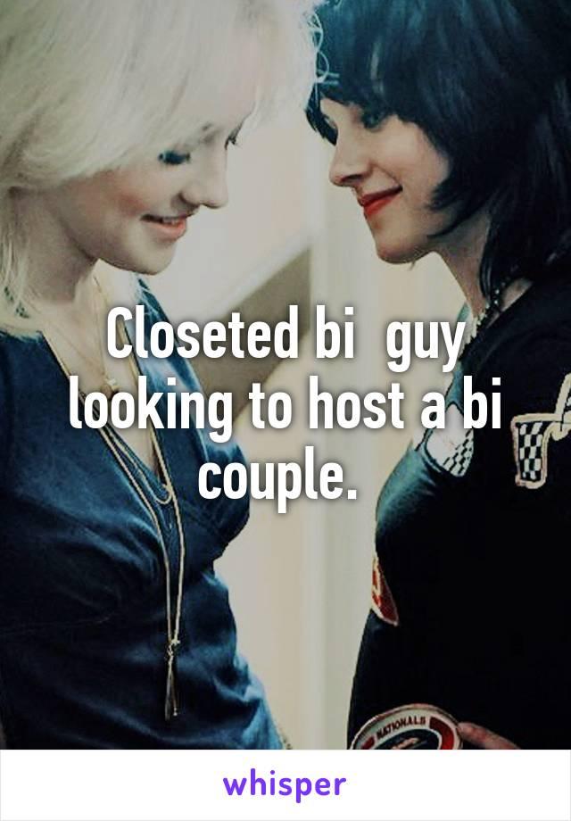 Couple looking for bi guy