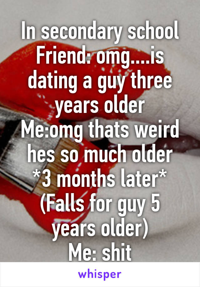 Dating A Guy Three Years Older