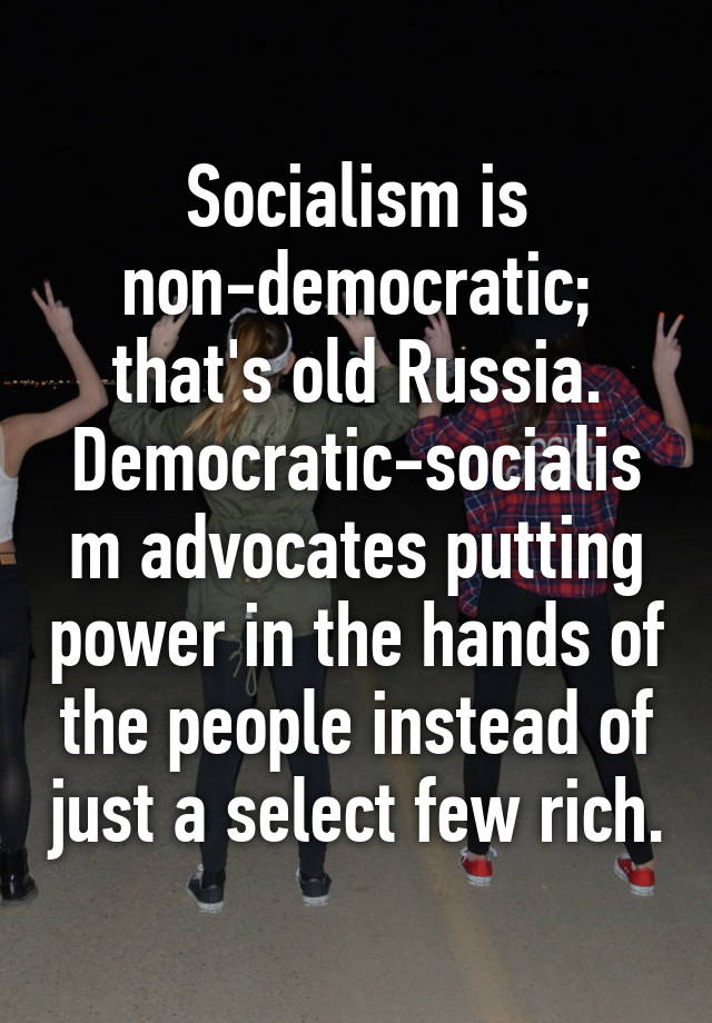 democracy vs non democracy
