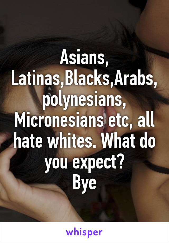 blacks hate asians Why