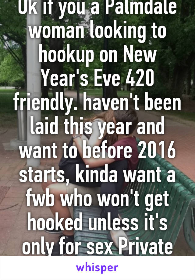 New years hookup