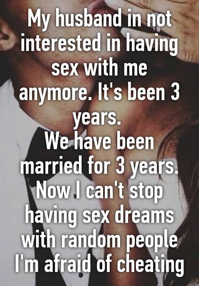 Spouse not interested in having sex