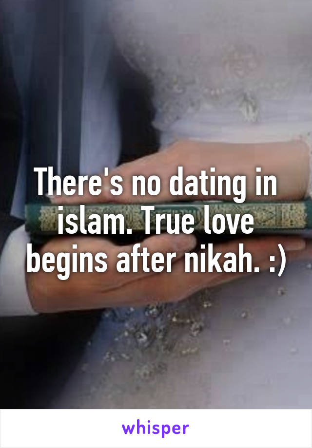 Why Is There No Dating In Islam