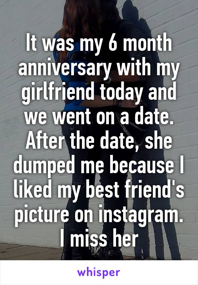 Still dating after 6 months
