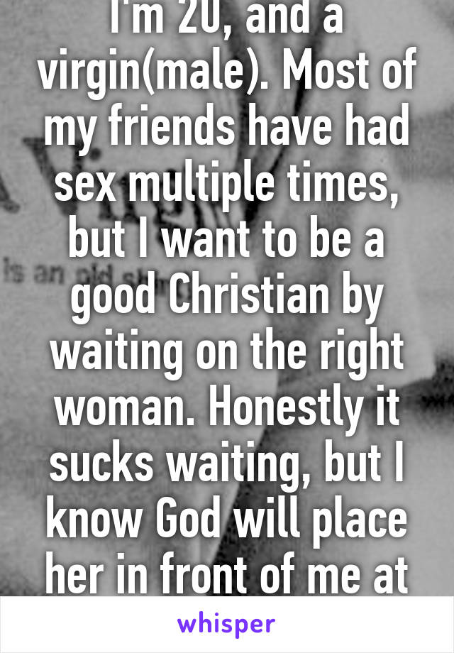 Christian had i im sex