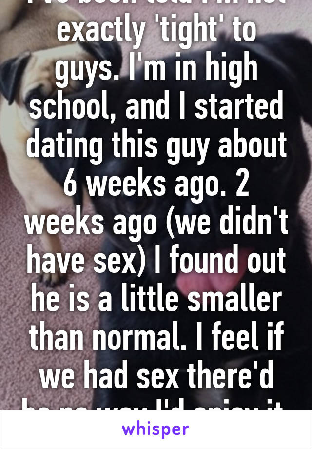 dating for 6 weeks
