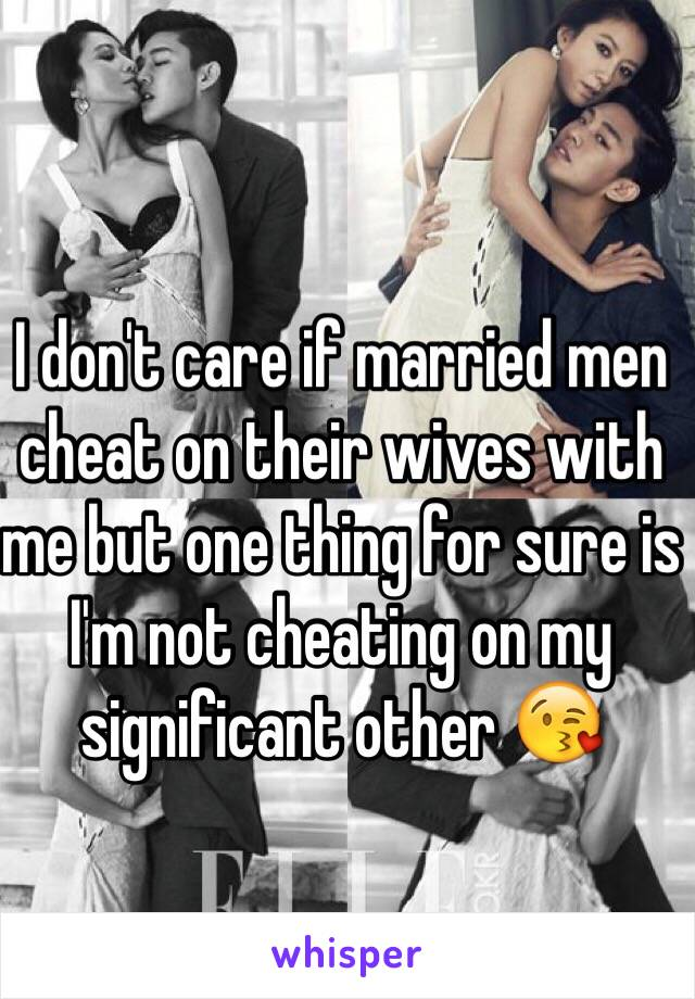With you his when man cheats a wife on Is it