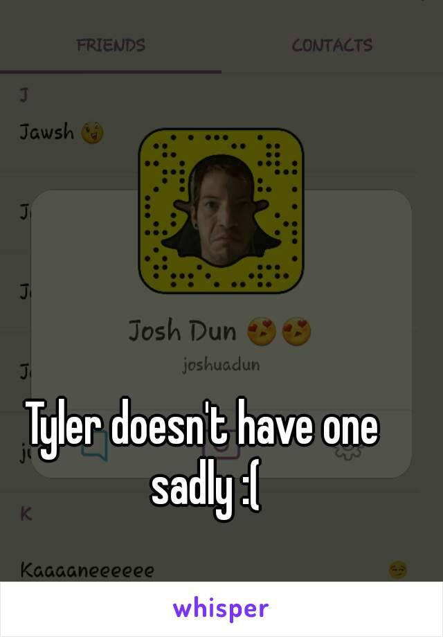 Tyler joseph snapchat