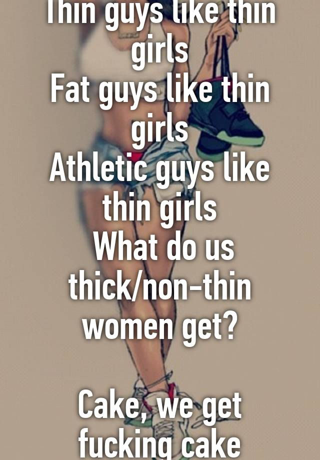 Do boys like thin girls